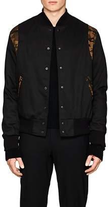 Barneys New York Golden Bear x Men's Camouflage-Accented Bomber Jacket