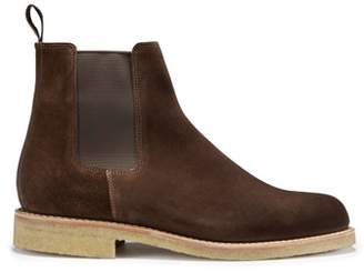 Co Hugs & Suede Chelsea Boots Crepe Rubber Welted Sole