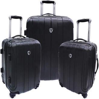 Traveler's Choice Cambridge 3 Piece Hardshell Spinner Luggage Set
