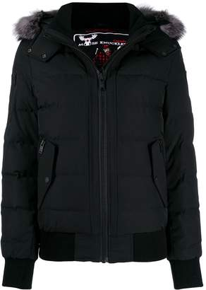 Moose Knuckles full zip puffer jacket