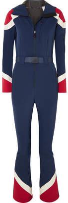 Perfect Moment - Allos Color-block Ski Suit - Navy