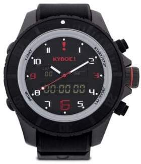 KYBOE Stainless Steel Military Grade Strap Watch