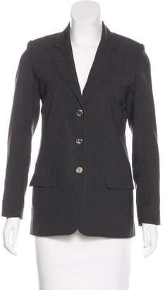 Louis Vuitton Wool Structured Blazer
