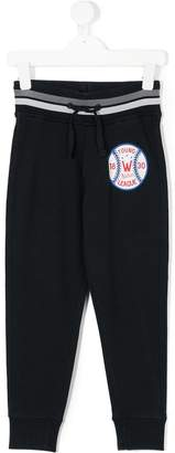 Woolrich Kids patch embellished track pants