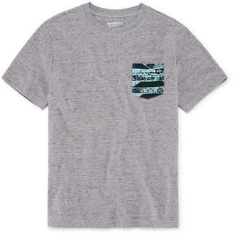 Arizona Short Sleeve Printed Pocket T-Shirt-Boys 4-20