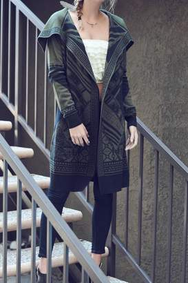 Double Zero Olive Sweater Cardigan
