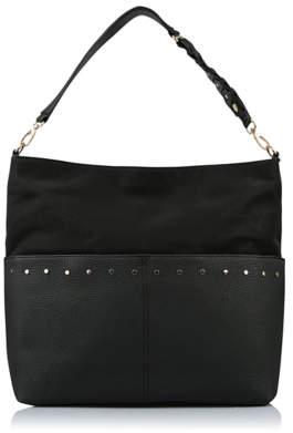 af9fb059ea3 at George   ASDA · George Black Studded Hobo Bag