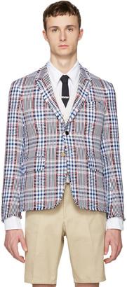Thom Browne Multicolor Tweed High Armhole Blazer $2,600 thestylecure.com