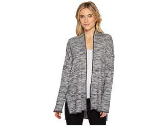 Splendid Slit Cardigan Women's Sweater