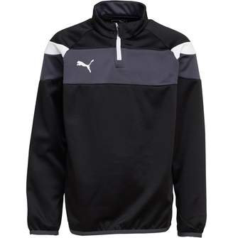 Puma Junior Boys Spirit II 1/4 Zip Training Top Black