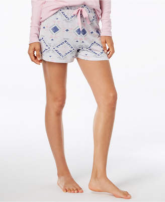 Ande Whisperluxe Space-Dyed Printed Pajama Shorts