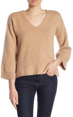 Minnie Rose V-Neck Cashmere Sweater