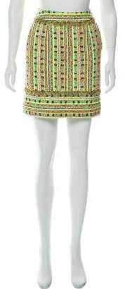 Matthew Williamson Bouclé Mini Skirt