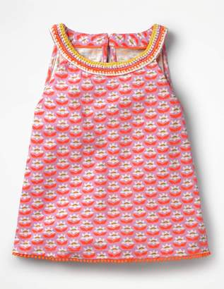Boden Printed Jersey Tank