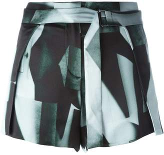 Ann Demeulemeester belted shorts
