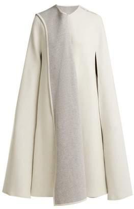 Carl Kapp - Amunet Draped Wool Blend Cape - Womens - White