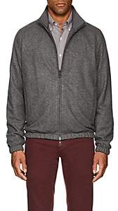 Loro Piana Men's Reversible Bomber Jacket - Gray