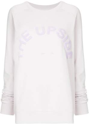 The Upside logo sweater
