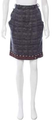 Marni Wool Embellished Skirt