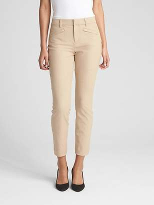 Gap Skinny Ankle Pants in Stretch Linen Twill