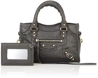 Balenciaga Women's Arena Leather Classic Nano City Bag $1,150 thestylecure.com