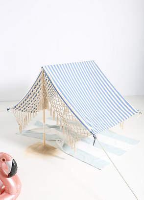 Anthropologie Striped Beach Tent