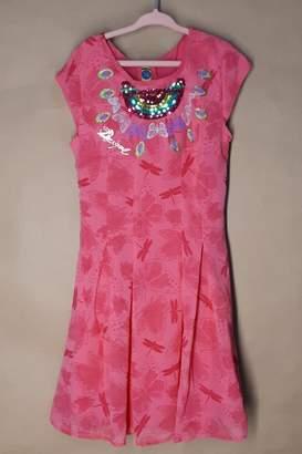 Desigual Pink Victoria Dress