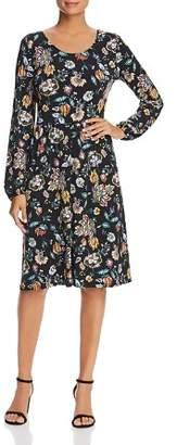 Leota Maya Floral Print Dress