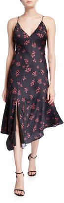 Keepsake Infinity Floral V-Neck Midi Slip Dress