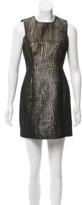 Milly Metallic Textured Dress
