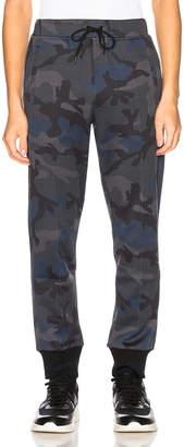 Valentino Sweatpants in Navy Camo & Grey | FWRD