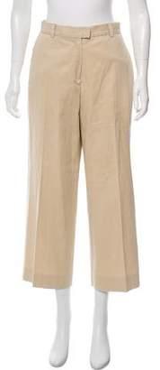 Kiton High-Rise Wide-Leg Pants