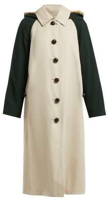 Burberry Richmond Cotton Gabardine Car Coat - Womens - Beige