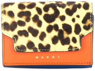 Marni (マルニ) - Marni レオパード 三つ折り財布