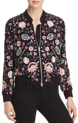 AQUA x Maddie & Tae Embellished Bomber Jacket - 100% Exclusive $148 thestylecure.com