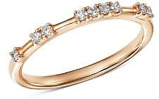 Bloomingdale's Diamond Dotted Stacking Ring in 14K Rose Gold, 0.15 ct. t.w. - 100% Exclusive