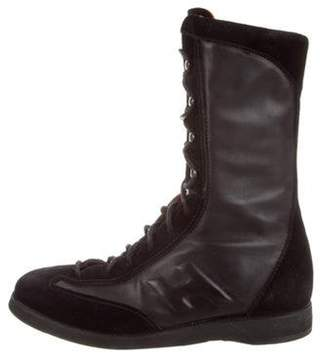 Hogan Leather Ankle Boots Black Leather Ankle Boots