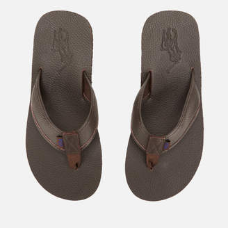 93288f5fd957 Polo Ralph Lauren Men s Sullivan Iii Tumbled Leather Sandals - Dark Brown