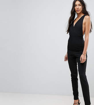Vesper Tall Open Back Tailored Jumpsuit