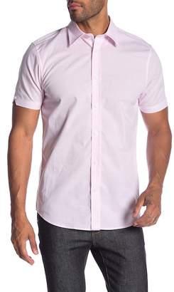 Ben Sherman Short Sleeve Stretch End On End Shirt