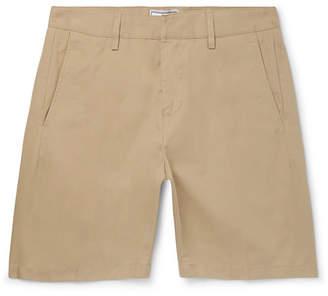 Ami Slim-Fit Cotton-Twill Bermuda Shorts