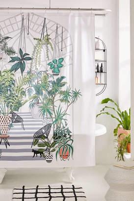 Deny Designs Anyuka For Deny Greenhouse Illustration Shower Curtain