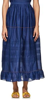 Thierry Colson Women's Sissi Cotton-Silk Full Skirt