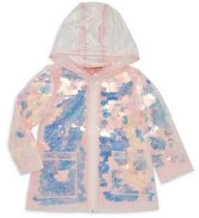 Urban Republic Little Girl's Embellished Raincoat