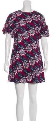 Thakoon Cold Shoulder Mini Dress