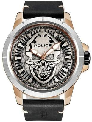 Police Men's Black Reaper Watch