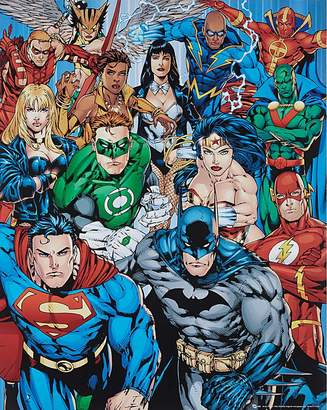 Fashion World Superheros Poster Board Wall Art