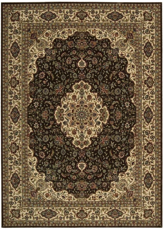 "Nourison Closeout! Area Rug, Persian Arts BD02 Chocolate 5' 3"" x 7' 5"