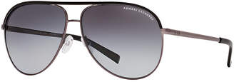 Armani Exchange Polarized Sunglasses, AX2002P