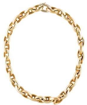 14K Large Link Necklace